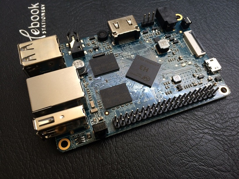 Orange Pi plus H3 Quad Core 1.6GHZ 1GB RAM 4K Open-source development board banana pi pro raspberry pi 2 cubieboard pcduino