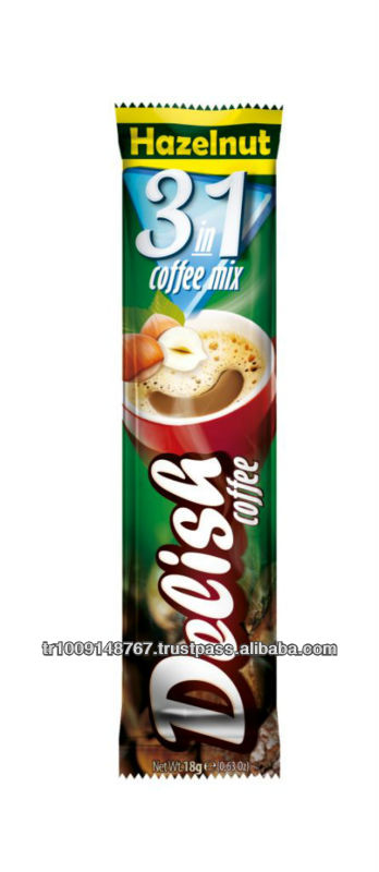 Coffee Mix 3 in 1 with Hazelnut