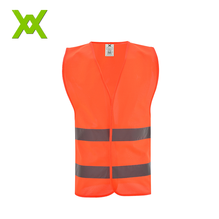 wholesale high visibility bicycle safty <strong>orange</strong> reflective <strong>vest</strong>