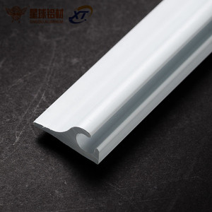 WOW!OEM powder coating aluminum awning rail,extruded alloy aluminum profiles for trailer awnings Guangzhou