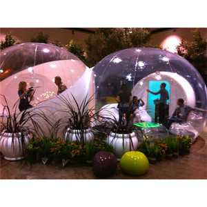 Hot-selling inflatable bubble tent house, outdoor inflatable bubble tent for sale