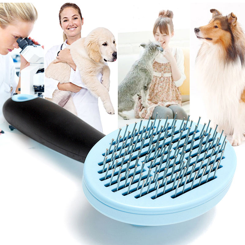 <strong>Pet</strong> Hair Remover Dog Cat Hair Combs Blue Pink <strong>Pet</strong> Comb <strong>Pet</strong> Grooming Tools Good Trimmer Dog Accessories