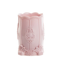 Ретро цветок резной узор ящик для хранения кистей для макияжа карандаш для хранения горшок ручки держатели контейнер стол органайзер подар...(Китай)