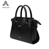 Designer Especial Material Adjustable Genuine Leather Top Grain Leather Customized Color Detachable Strap Hand Bag Purse Handbag