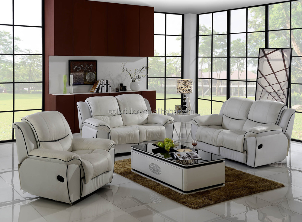 Lazy Boy Leather Recliner Sofa For Living Room, Hotel, Salon Beauty Of  Lines Leather Part 68