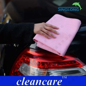 PVA,PVC Material PVA Chamois Towel Car Wash Towel