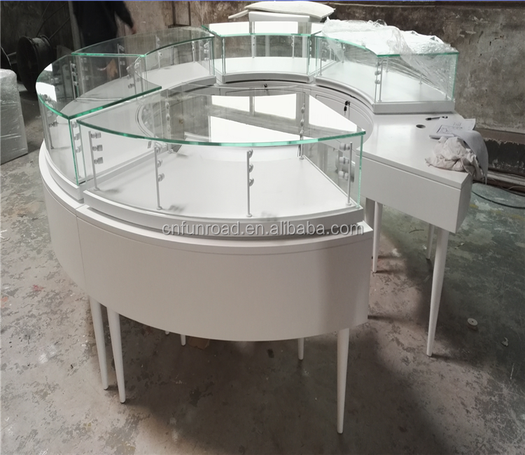 fashion round jewelry cabinet for sale