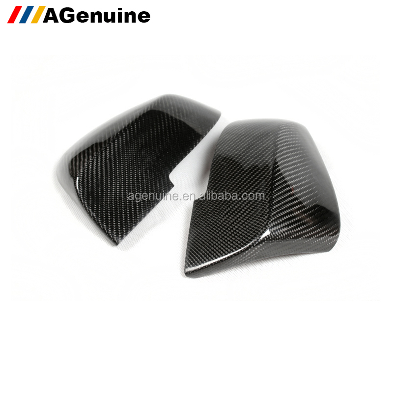 Add-on carbon fiber out door side mirror caps rear view mirror covers for BMW 1 2 3 4 x1 series F20 F22 F30 F34 GT F32 E84