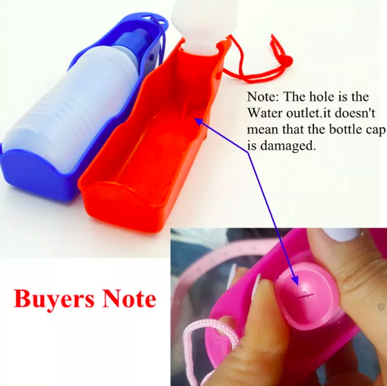 500Ml Collapsible Drip Proof Squeeze Portable Dog Water Bottle In Hot Wholesale Promotion