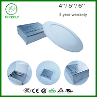 Aluminum frame SAMSUNG 5630 led round panel light with junction box for office