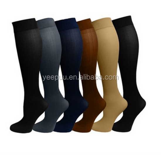 Ladies 6 Pair Pack Compression Socks