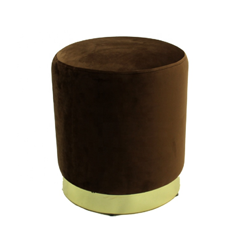 35x40 Velent Round stool with metal base