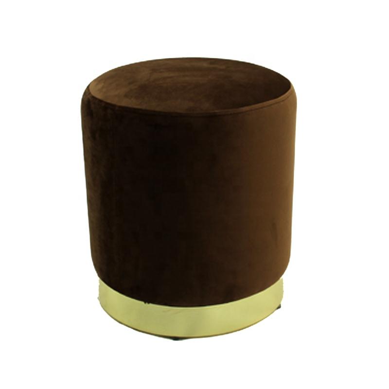 35x40 Velent Round stool with metal base