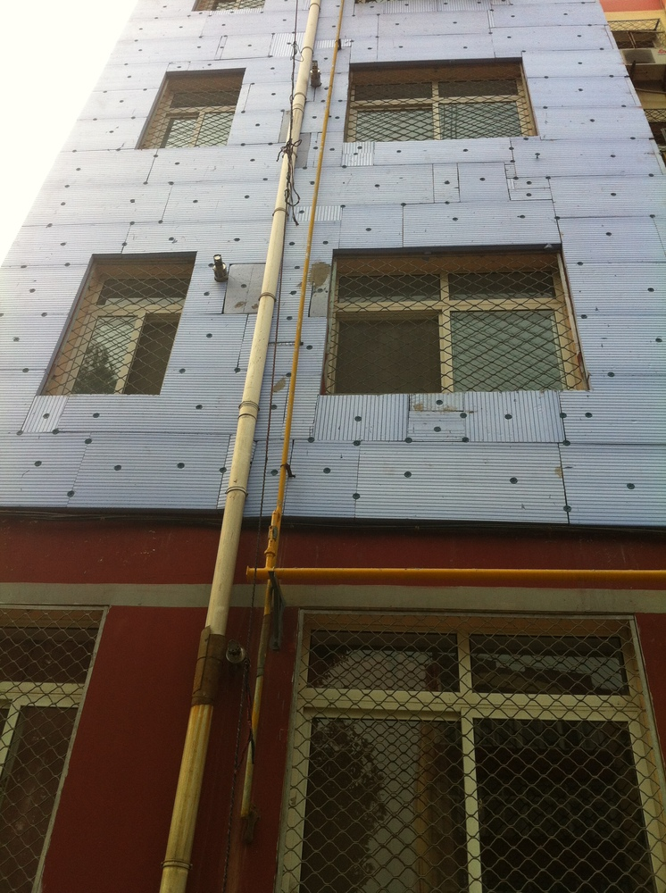 Blue Panel Xps Polystyrene Dow Rigid Insulation For