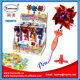 2016 hot selling windmill bird ball pen toy with candy promotion pen for kids made in China