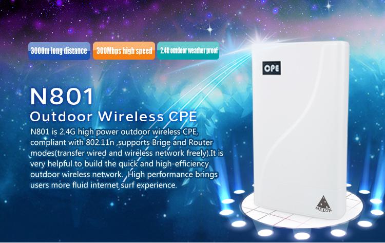 Outdoor Wireless Cpe,Wifi Bridge/router/ap,3km Long Distance,150mbps ...