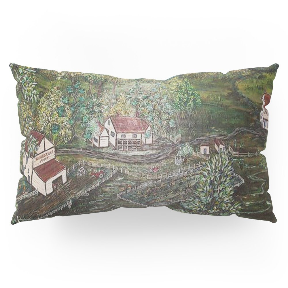 """Society6 The Weather Berry Farm Pillow Sham King (20"""" x 36"""") Set of 2"""
