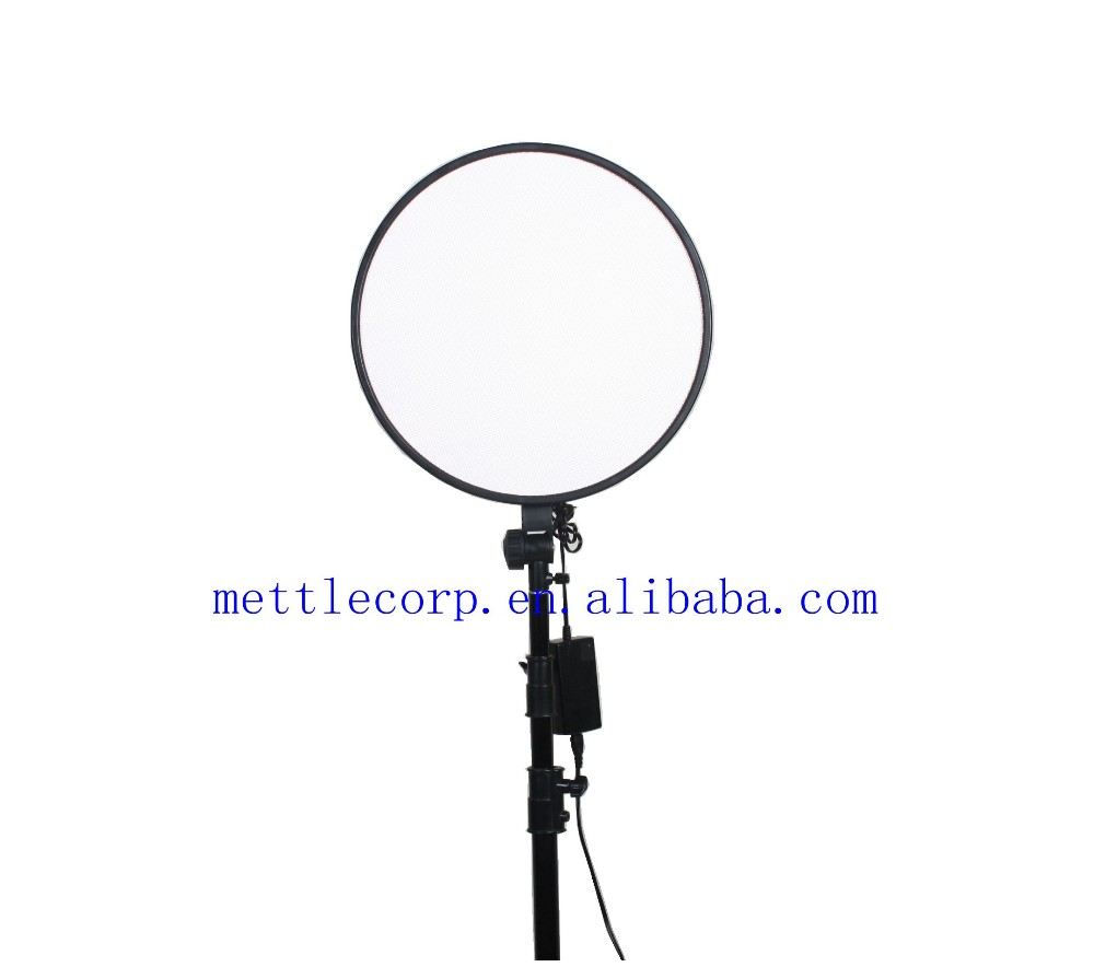 Mettle Rpad-450D AC/DC Super Soft Light LED Video Light Photography Light for Studio/Portrait with Bi-color Temperature