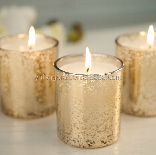 wedding gold mercury votive candle holders wholesale View glass