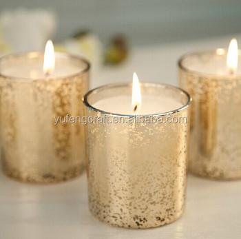 Wedding Gold Mercury Votive Candle Holders Whole Gl Holder Product On Alibaba