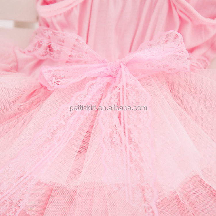 Gorgeous Chiffon Dress Girl Wears In Party Lace Decoration Bling Bling Waistband
