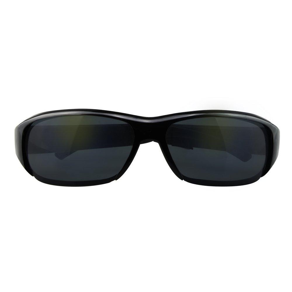 44c4cd515d110 Monuen Hidden Camera Eyeglasses Photo Taking Video Recording Spy Camera  Glasses Wireless Surveillance Camera Black