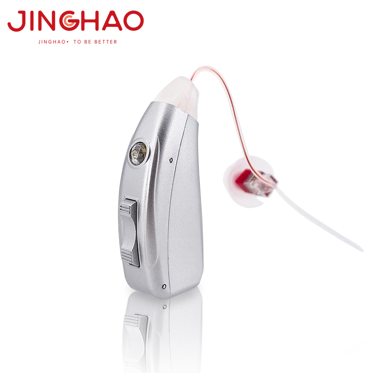 Semi Digital Sound Record RIC Rechargeable Hearing Aid