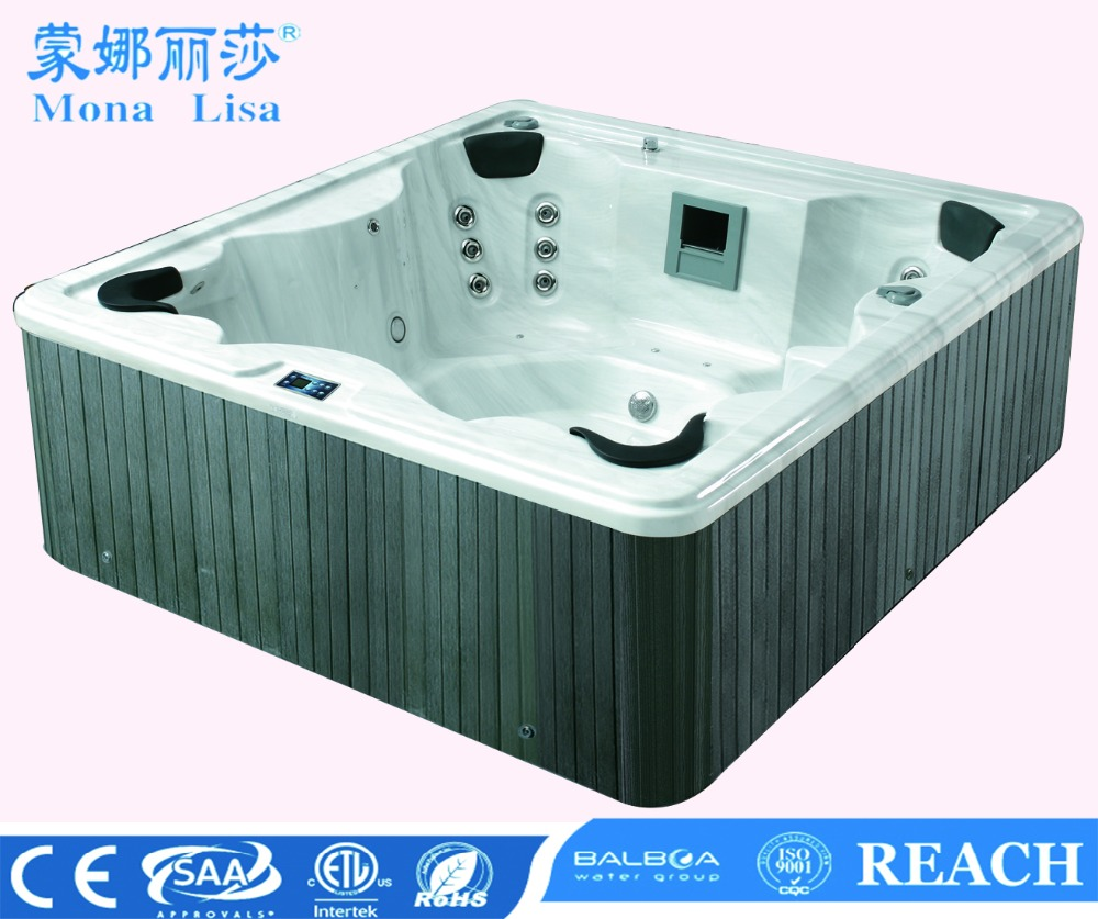 5 person Hot tub with strong massage jets big size japan tub M-3322