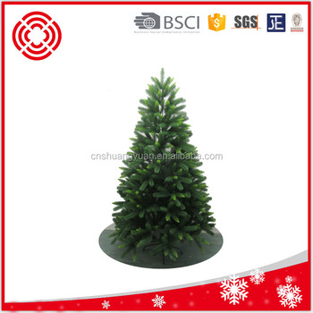 new design artificial two color christmas pe tree