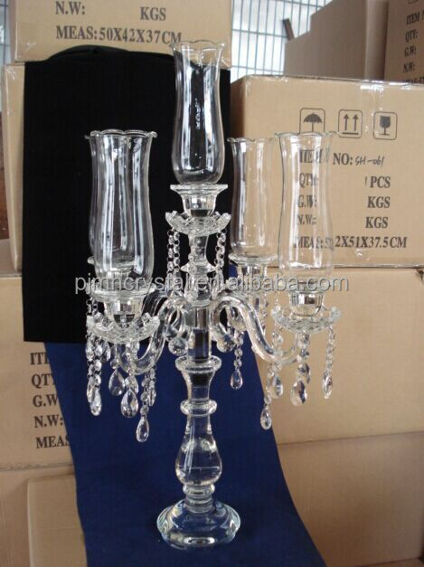 5arms Crystal Candelabra Wedding Decoration Amp Table Centerpieces Crystal Wedding Centerpieces