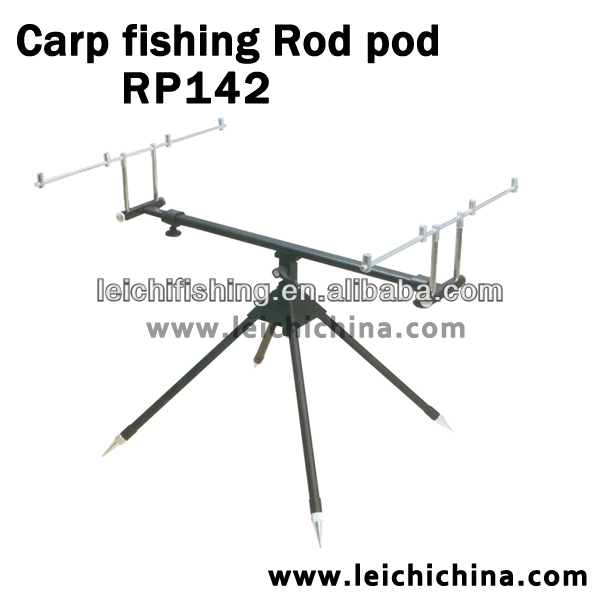 Light weight aluminum fishing extension support rod