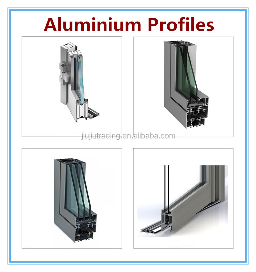 Window frame parts aluminum sliding window parts for Aluminium window frame manufacturers