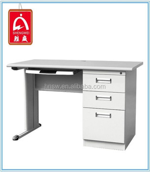office table with drawers. Simple Study Steel Computer Desk Office Table With Drawers
