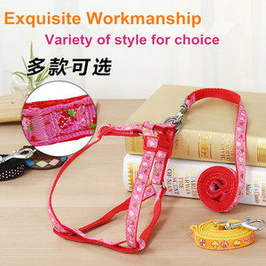 variety of style pet product small dog carrier for dog leads dog leash and harness