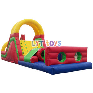Adult inflatable obstacle course inflatable water game
