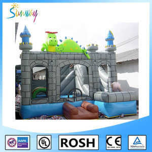 Hot Sale Kids Inflatable Jumpers Best Price, Amazing Inflatable Combo Fun House, Inflatable Obstacle Combo
