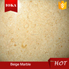 Popular natural indonesia beige marble for villa & hotel decoration