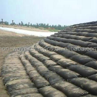 Non Woven Geotextile Type Geo Bag Used For Reservoir Lake Dam ...