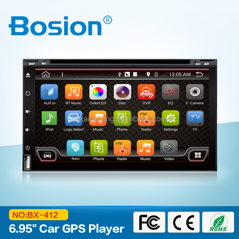 BX-412 No DVD USB Solt Android GPS For Citroen C4 Car Multimedia Player with Bluetooth