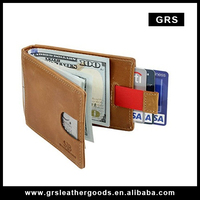 GRS-00,custom money clip covered with leather money clip credit card holder