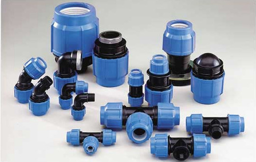 Hdpe water poly pipe compression fitting buy