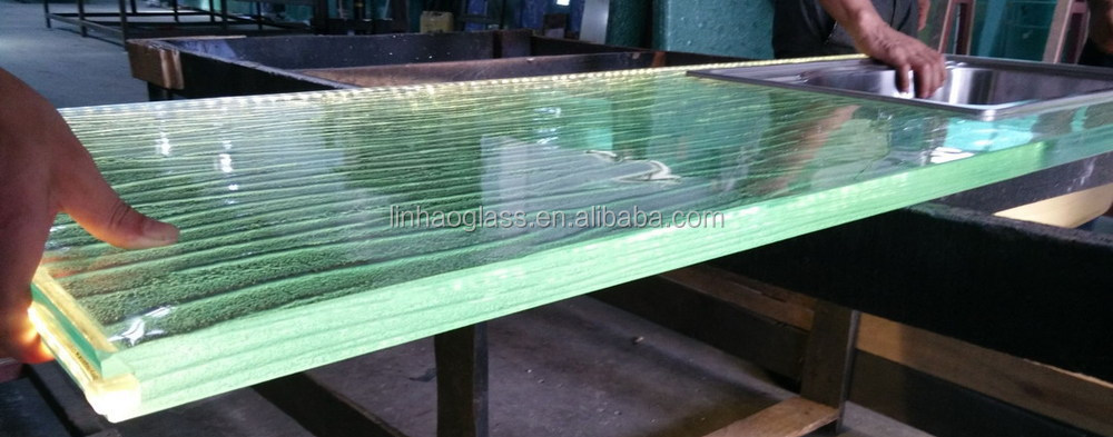 1 Inch Glass Bar Countertops For Sale, Glass Countertop With Led Light,  Prefabricated Bar
