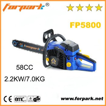 Kingpark best quality garden tools 5800 gasoline chain saw for Top quality garden tools