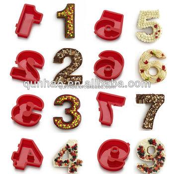 Silikon Nummern 0 9 Kuchenformen Zahlenform Anzahl Kuchenform Buy