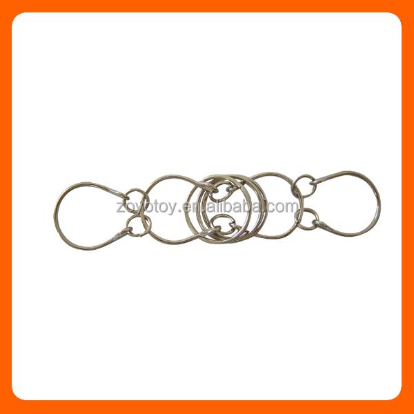 Металлические головоломки 3 запутанных кольца
