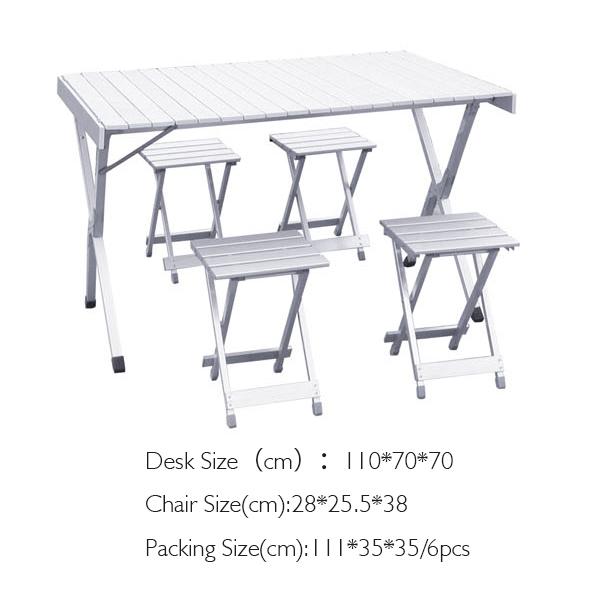 Mesa plegable de aluminio mesa plegable peque a mesa con for Mesa plegable pequena