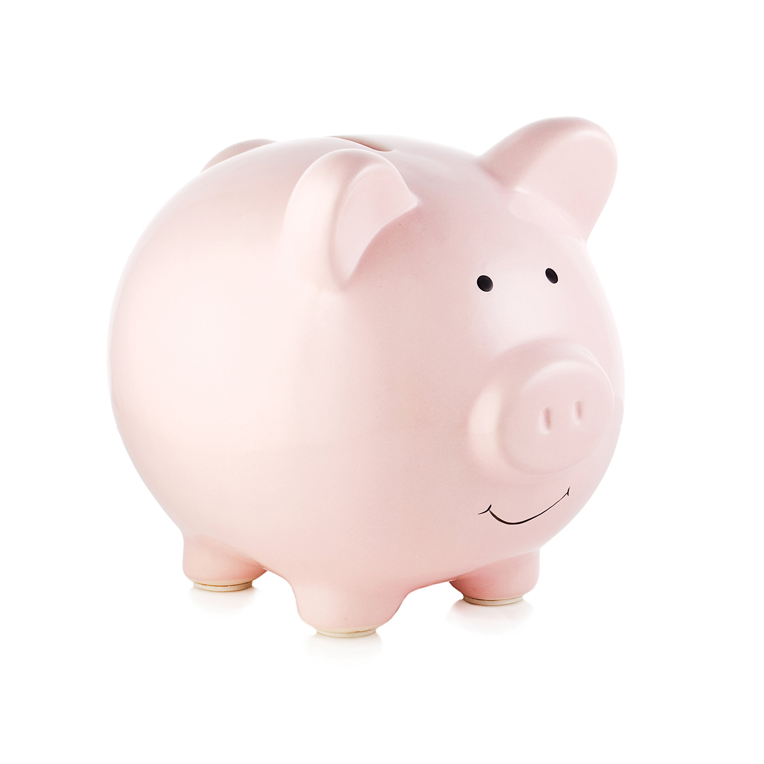 Cheap large pink piggy bank find large pink piggy bank for Piggy bank for toddlers