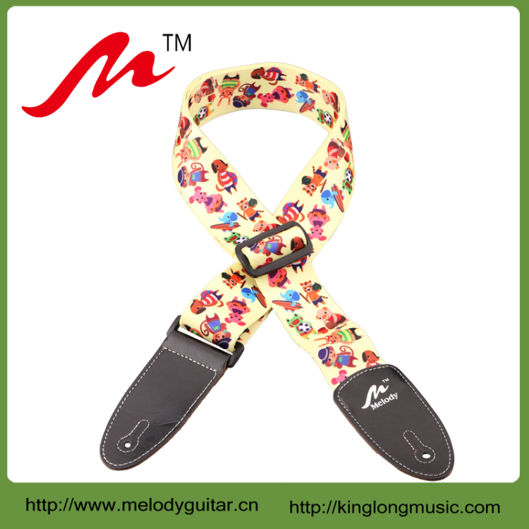 Low Price Of guitar/bass guitar straps leather end With Promotional Price