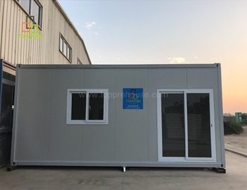 Easy move container 20ft home for director house prefab storage unit for living for sale