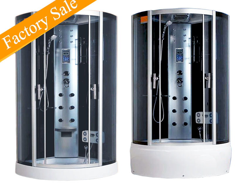 Lover Corner Massage Shower Cabin With Sliding Door In Cheap prices